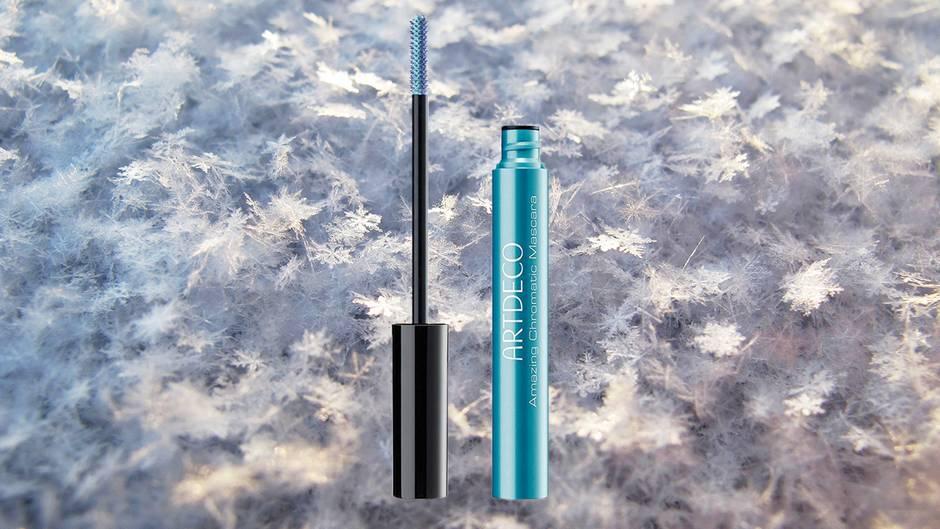 Winter-Make-up: Blaue Wimperntusche von Artdeco