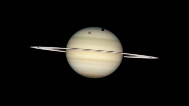 Der Saturn verliert seine Ringe