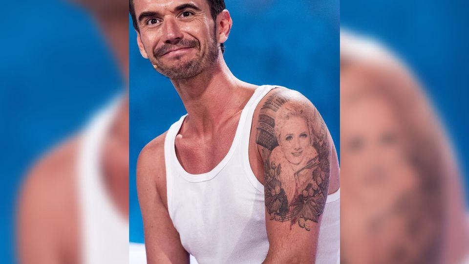 Florian Silbereisen und sein Helene-Fischer-Tattoo