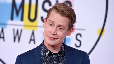 Macaulay Culkin auf dem roten Teppich