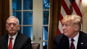 James Mattis und Donald Trump