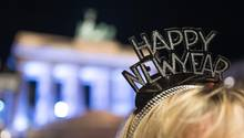 Silvester vor dem Brandenburger Tor