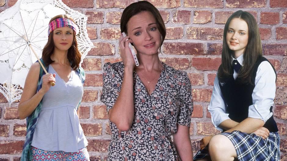 """Alexis Bledel als Lorelai Leigh """"Rory"""" Gilmore  Das Good Girl: Es gibt sicherlich viele Mütter, die sich eine Tochter wie Rory gewünscht hätten. Immer freundlich, immer hilfsbereit, ehrgeizig, fürsorglich, kaum Skandale. Das macht sich aber auch in Rorys Look bemerkbar. Schon als Teenie geht sie mit ihren Outfits immer auf Nummer sicher und provoziert nicht oder eckt irgendwo an.      Ich kann mich tatsächlich an keine einzige Episode erinnern, in der Lorelai zu Rory sagt: """"Schmink dich ab, dein Eyeshadow ist furchtbar!"""". Klar, in der Schule hat Rory einen Dresscode, an den sie sich halten muss und für die Friday-Night-Dinner mit ihren Großeltern macht sie sich auch immer schick. Aber selbst in ihrer Freizeit tauscht Rory ihre Basics nie gegen ausgefallene Pieces. Mit jedem Jahr wird ihr Stil eleganter und erwachsener und so ziehen mit den ersten Praktika und Jobs Business-Blazer, gut geschnittene Kleider und Hosenanzüge in ihren Kleiderschrank. Sicherlich hätte die Serie ihren Reiz verloren, wäre Rory auf einmal Goth geworden oder hätte sich die Haare in Regenbogenfarben gefärbt. Das wäre absurd gewesen! Nein, mit Rorys Style ist alles gut, so wie es ist."""
