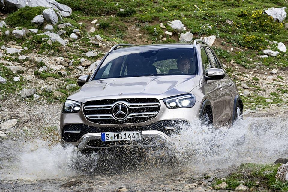 Der Mercedes GLE bekommt ein neues Gesicht