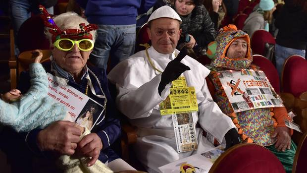 Spanien Weihnachtslotterie