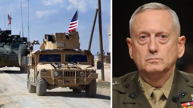 US-Truppen in Syrien und der scheidende US-Verteidigungsminister Jimmy Mattis