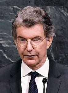 Christoph Heusgen ist Deutschlands Botschafter bei den Vereinten Nationen