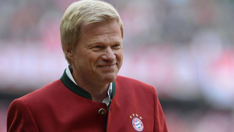 Oliver Kahn ist für eine Position in der Chefetage des FC Bayern München im Gespräch
