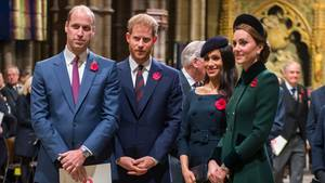 Prinz William, Prinz Harry, Meghan Markle, Herzogin Kate