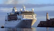 """Das Kreuzfahrtschiff """"Empress of the Seas"""""""