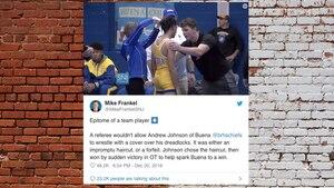 Rassismus? Schiedsrichter zwingt Ringer, seine Haare abzuschneiden