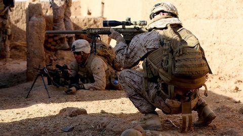 Marines auf einem Einsatz in Afghanistan