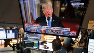 Streit mit der Fed, Shutdown, nervöse Finanzmärkte: An den Börsen wird Donald Trump derzeit genauestens beobachtet