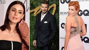 Lena Meyer-Landrut, David Beckham, Palina Rojinski
