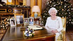 Queen Elizabeth II. nach ihrer diesjährigen Weihnachtsansprache