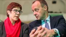 """""""Das Kabinett war vollzählig"""": Die CDU-Vorsitzende Kramp-Karrenbauer verpasste Merz und seinen Kabinetts-Träumen einen Dämpfer"""