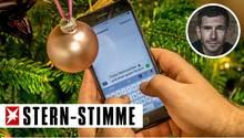 Weihnachts-WhatsApp