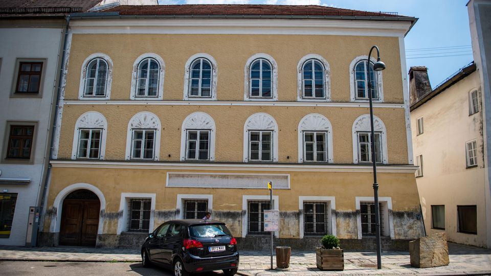 Hitler-Haus in Braunau am Inn