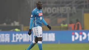 Kalidou Koulibaly wurde im Spiel gegen Inter Mailand mehrfach rassistisch beleidigt