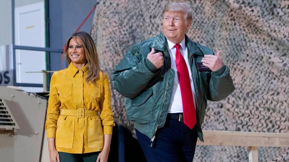 """Truppenabzug aus Syrien: """"Wir sind nicht länger die Angeschmierten"""" – so lässt Trump sich im Irak wie ein Superstar feiern"""