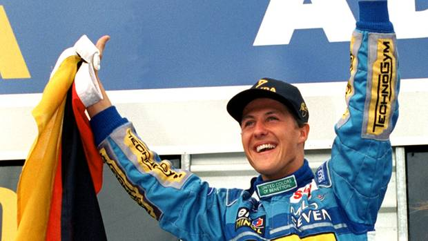 Michael Schumacher 1994 in Adelaide