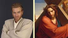 Jesus Star Wars Obi-Wan Weihnachten