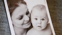 Der kleine Leon mit seiner Mutter Lisa