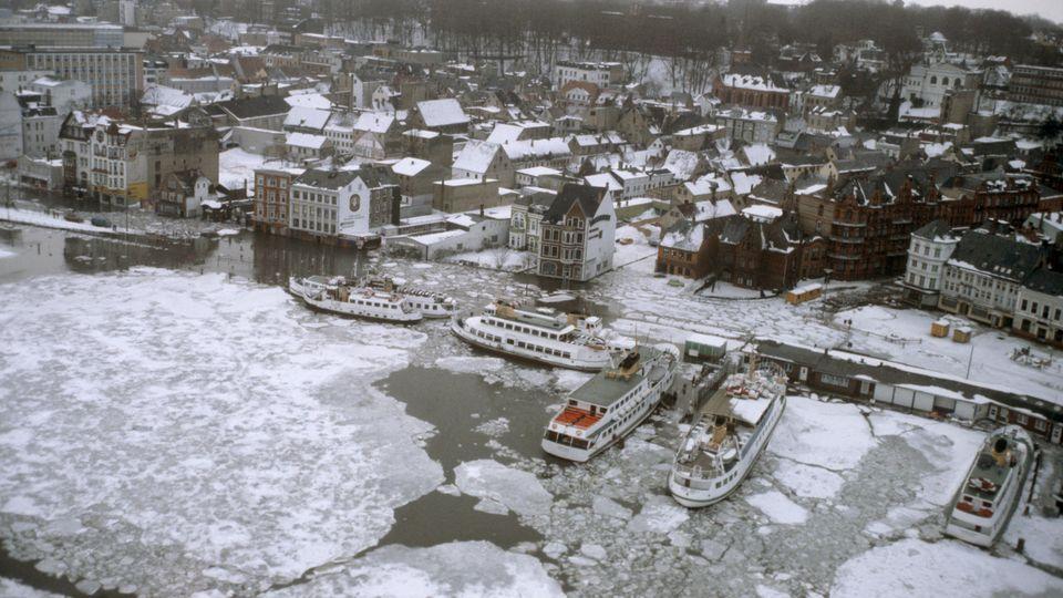 Haushohe Verwehungen: 28. Dezember 1978: Der Tag, an dem Schleswig-Holstein im Schnee versank