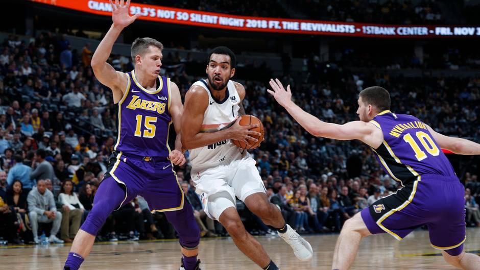 """Moritz Wagner (l.) im Lakers-Trikot: """"Meine Zeit wird kommen"""""""