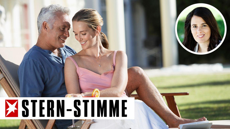 Die Männer in Beates Alter suchen eher nach jüngeren Frauen (Symbolbild)