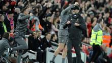 Jürgen Klopp jubelt mit dem FC Liverpool
