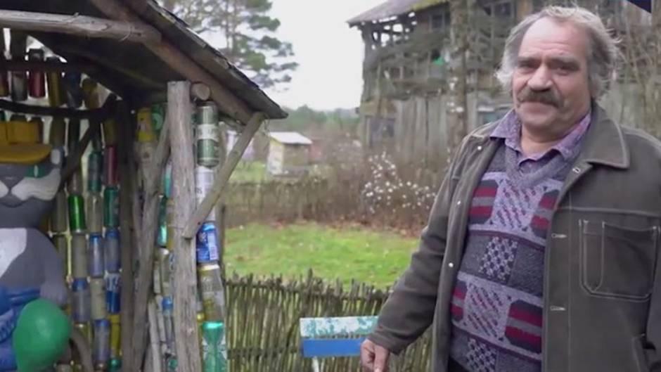 Inspirierendes Leben: Mann verliert bei Unfall einen Arm - danach baut er einen einzigartigen Park