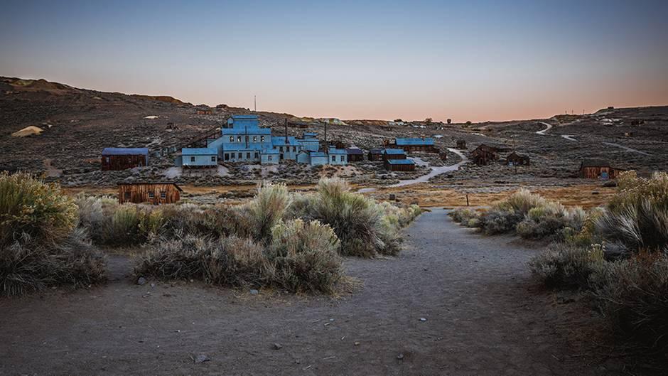 Vom Boomtown zur Geisterstadt  : Verlassene Stadt Bodie: Hier findet man Spuren verstorbener Goldgräber