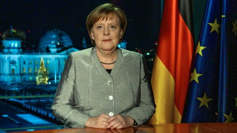 Angela Merkel zu 2019