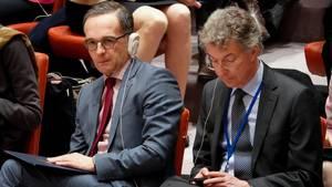 Heiko Maas und Christoph Heusgen