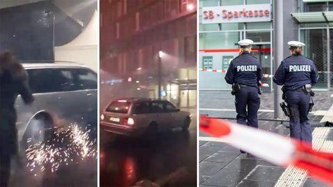 Augenzeugenvideos zeigen die Amokfahrt in Bottrop