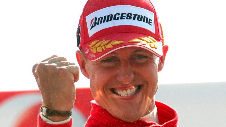 Michael Schumacher Siegerfaust