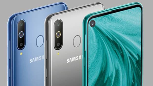 Samsung setzt auf eine kleine Kamera direkt im Display