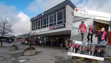 Der Bahnhof in Amberg, NPD-Facebook-Post