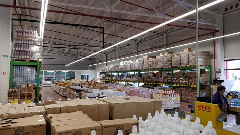 Eine Filiale des Discounters Mere in Rumänien. Der Supermarkt will Ende Januar auch in Deutschland starten.