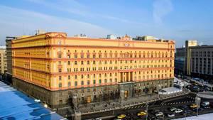 FSB-Zentrale in Moskau