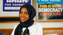 Ilhan Omar –erste muslimische US-Kongressabgeordnete mit Kopftuch