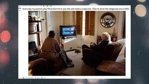 """""""Mario Kart"""": Deshalb spielt diese Paar seit 18 Jahren gegeneinander"""