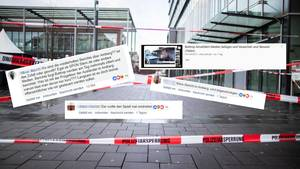 Wie die Angriffe in Amberg ausgenutzt werden, um von der Auto-Attacke in Bottrop abzulenken
