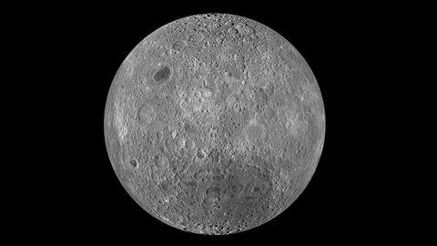 Dunkle Seite des Mondes