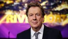 """Jörg Kachelmann im TV-Studio von """"Riverboat"""" im MDR"""