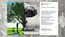 Instagram-Screenshot eines Bildes von Uğur Gallen