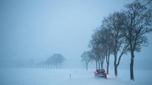 Wetter Bayern - Schnee Bayern - Schneefall - Wintereinbruch