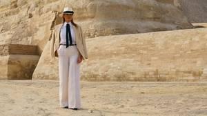 Melania Trump war ein Rätsel ohne Funktion. Nun hat sie Macht geleckt - und kostet das aus