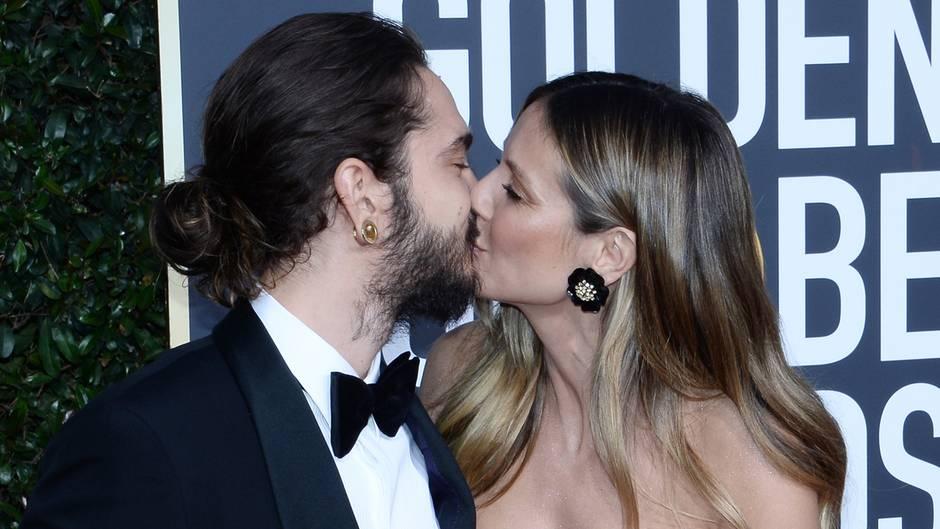 Golden Globes - Heidi Klum - Tom Kaulitz